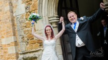 All Saints Church Rushton wedding photographer