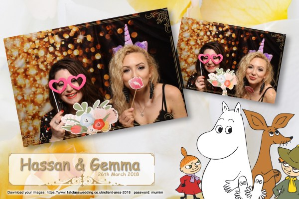 Dodford Manor Wedding Photobooth