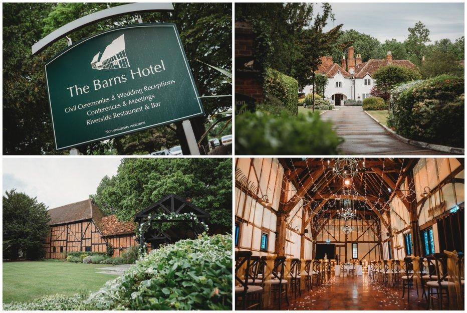barns hotel Bedford wedding photographer