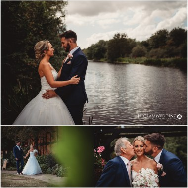 Barns Hotel Bedford Wedding Photographer
