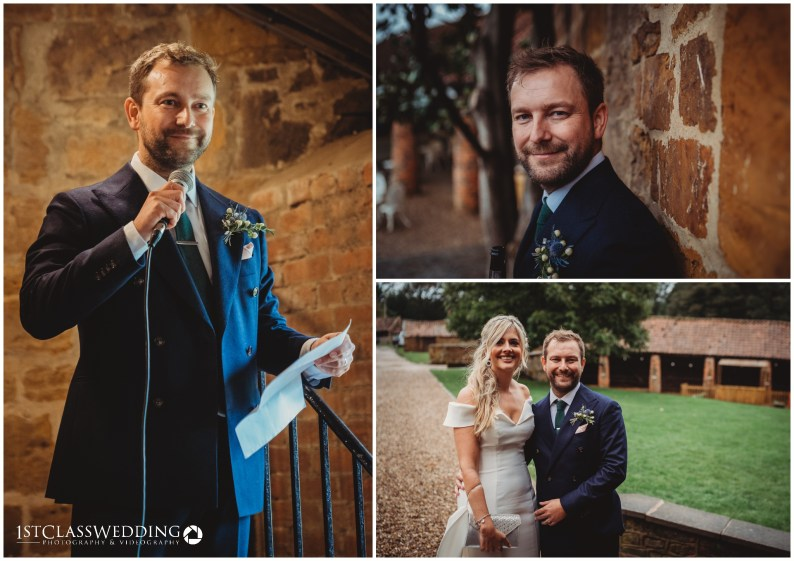 Barns at Hunsbury Wedding Photographer
