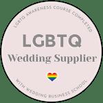 LGBTQ wedding suppler