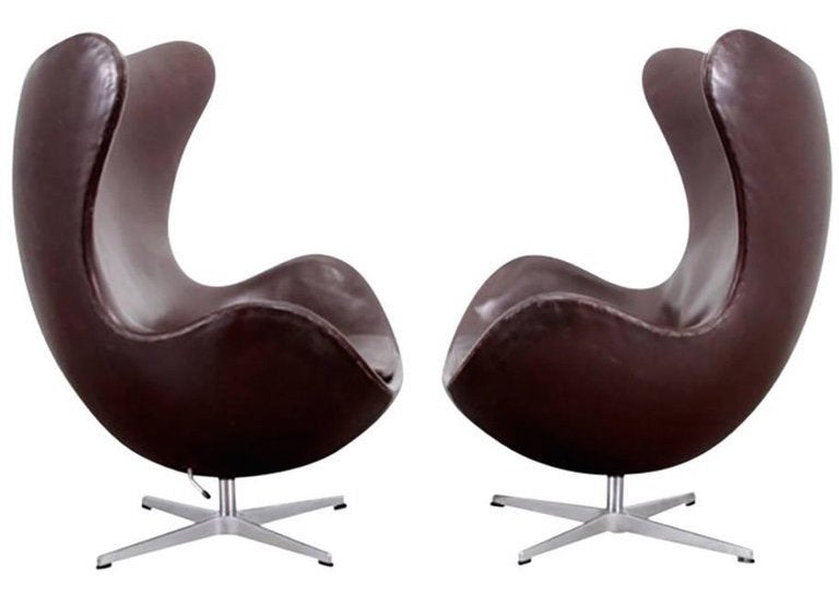 modern metal chairs chair design brands the 16 most popular mid century study brown leather egg