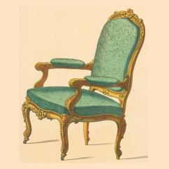 Floral Upholstered Chair Gray Side Louis Xvi, Xv & Xiv: How To Spot Differences Characteristics