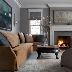 Living Room Fireplaces Pictures Nesting End Tables 28 Spectacular Spaces Warmed By The Study Fireplace Michael Del Piero