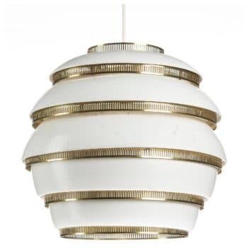 mid century wire lamp