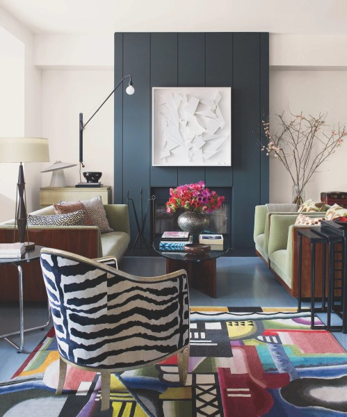 elle decor living room ideas Michael Boodro - The Eye of the Editor