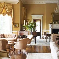 Old World Living Room Design Best Grey Paint For Uk Modern Elegance Vs Glamour Decorating Style Wars Scotland Though It Was Freshly Decorated From Its Bowed Windows And Wood Plank Floors Up This Grand But Cozily Conversational In A Newly