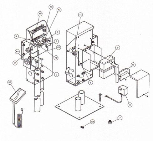 LiftMaster Slide Gate Operator Parts SL505 Automatic Gate