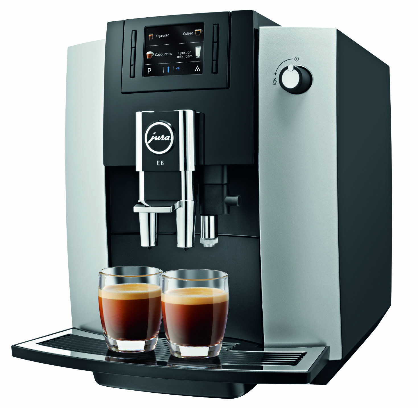 Jura E6 Platinum | Fully Automatic Espresso Maker | 1St In Coffee