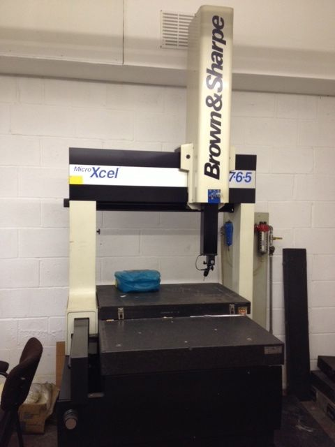 Brown and Sharpe Xcel 765 Manual CMM  1st Machinery