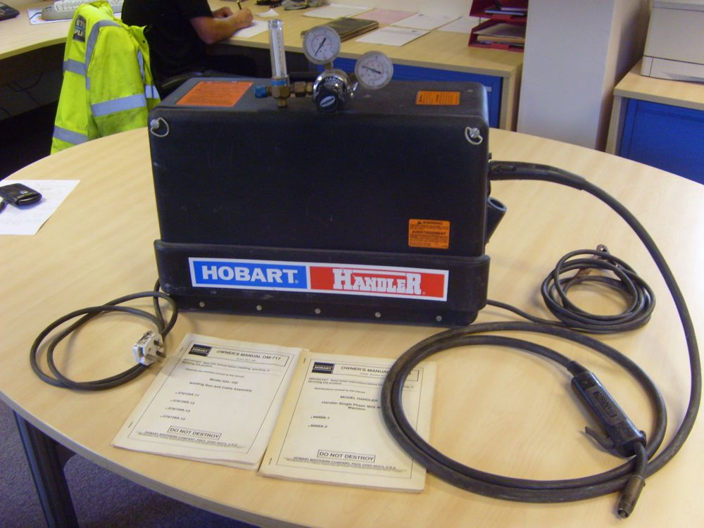 Hobart Handler Single Phase Mig Welding Machine Amp Gas