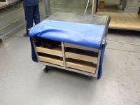 Wheeled Rack Storage Cabinet - 1st Machinery