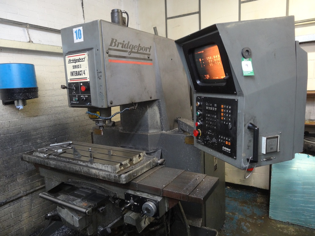 Bridgeport Series 2 interact 4 Vertical Milling Machine