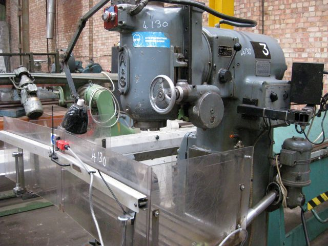 Adcock And Shipley Vertical Milling Machine