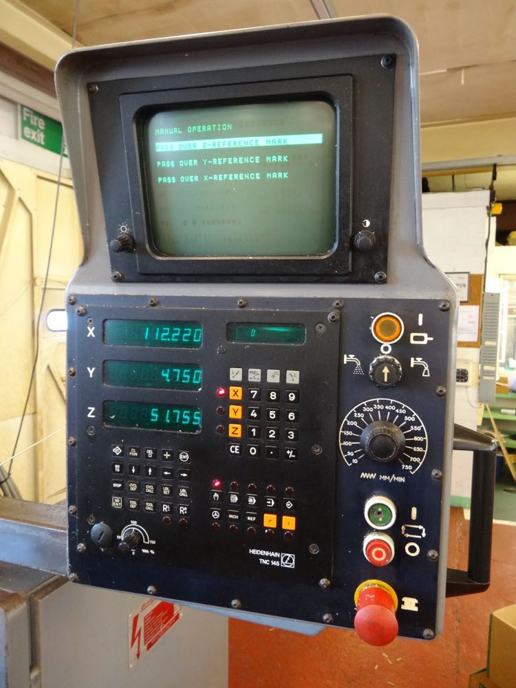 Bridgeport Interact 1 Heidenhain Tnc145
