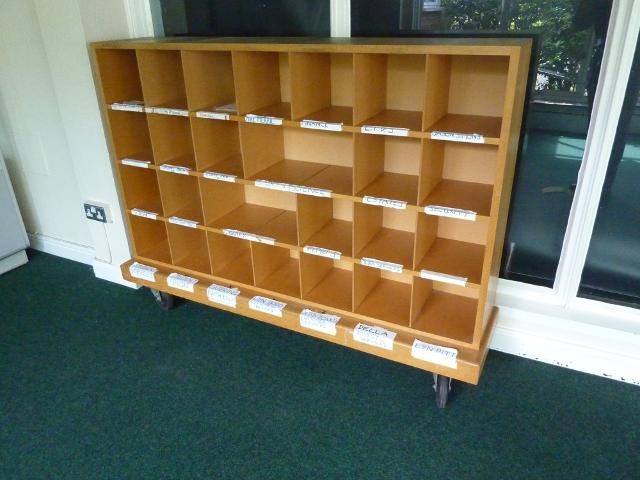 28 File or Postage Pigeon Hole Cabinet  1st Machinery