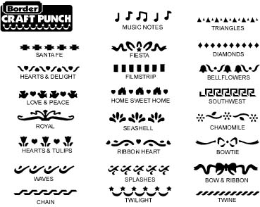 Punches, Border Paper Punches for Scrapbook and Craft