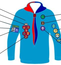 beaver badges [ 2199 x 1158 Pixel ]