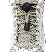 Sand elastic no tie locking shoelaces