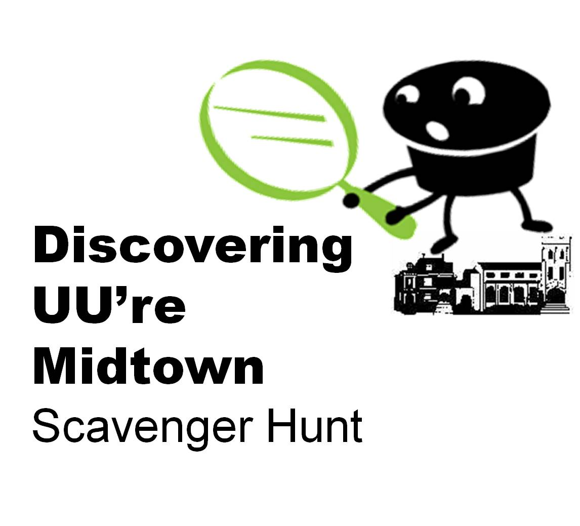Discovering UU're Midtown Scavenger Hunt