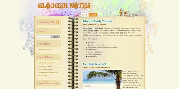 blogger-wordpress-theme
