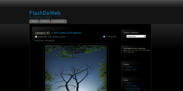 dreamline-wordpress-theme