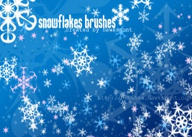 snowflakes-brushes