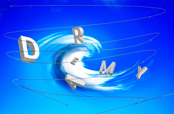 curves-snow ফটোশপের কারুকাজ- পর্ব ৫ (3D তে স্বপ্নের আকাশ)