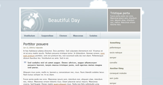 beautiful-day-xhtml-css-template