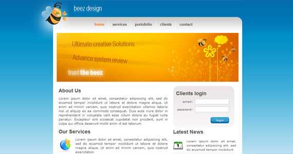 beez-design-xhtml-css-template