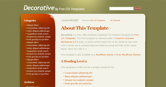 decorative-xhtml-css-template