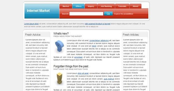 internet-market-xhtml-css-template