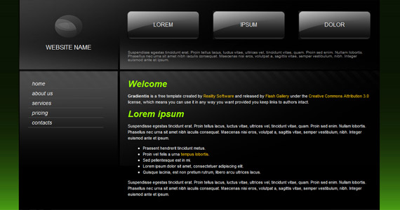 reality-software-xhtml-css-template