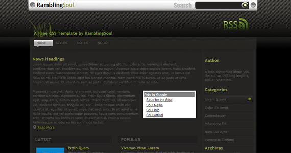 rs-10-xhtml-css-template