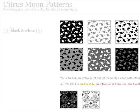 citrus-moon-patterns-free-webdesign