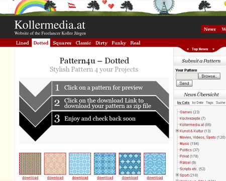 kollermedia-free-patterns-webdesign