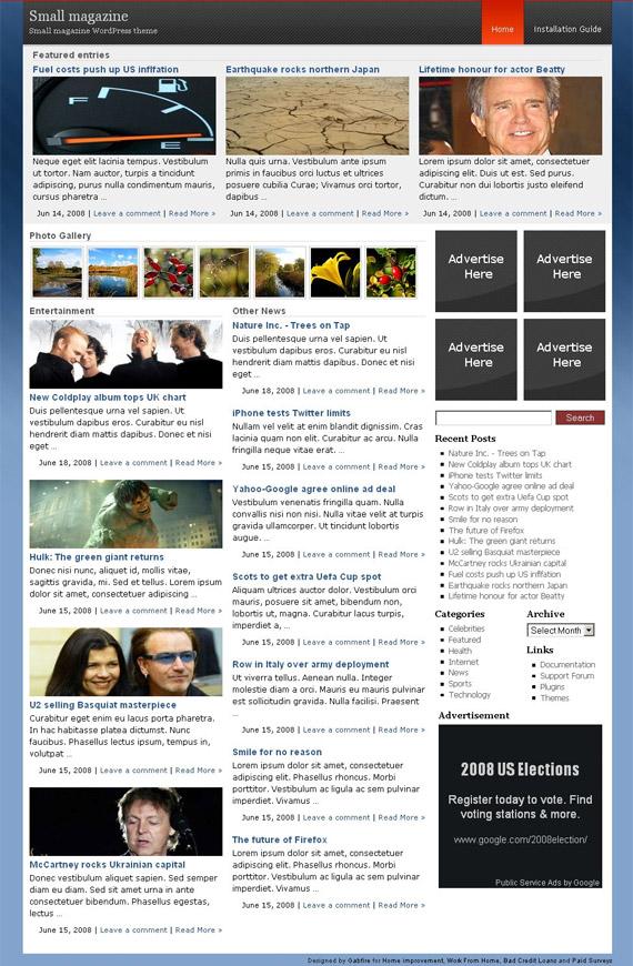 small-magazine-free-wordpress-theme-for-download