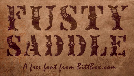 fusty-saddle-free-grunge-fonts