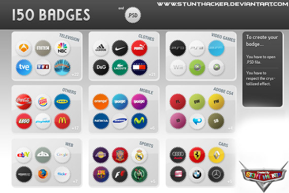 150-badges-webdesign-psd-free-buttons-icons