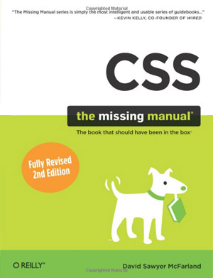 Cover of the book CSS: The Missing Manual