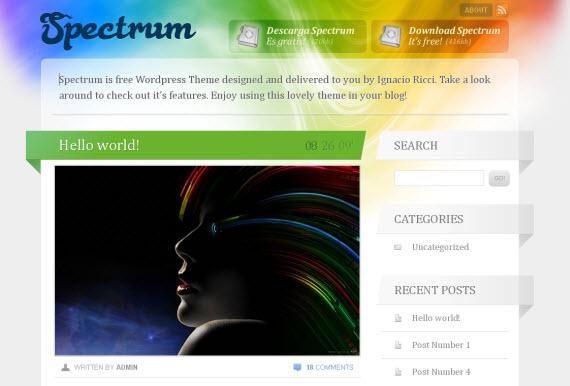 spectrum-free-premium-wordpress-theme