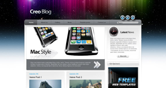 css-template-apple-style-webdesign-coding-tutorial