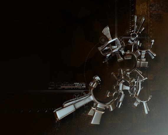 gears নিন ৪০টি 3D ওয়ালপেপার