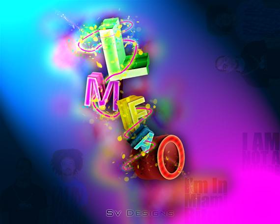lmfao নিন ৪০টি 3D ওয়ালপেপার