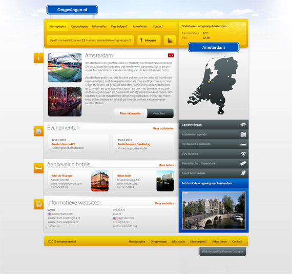 Environment-web-design-interface-inspiration-deviantart