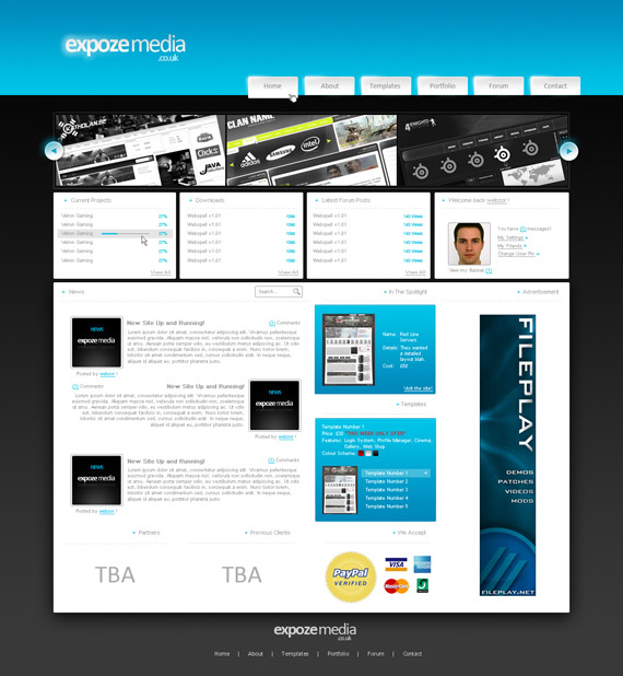 Expoze-networks-web-design-interface-inspiration-deviantart