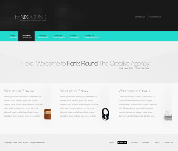Fenix-round-web-design-interface-inspiration-deviantart