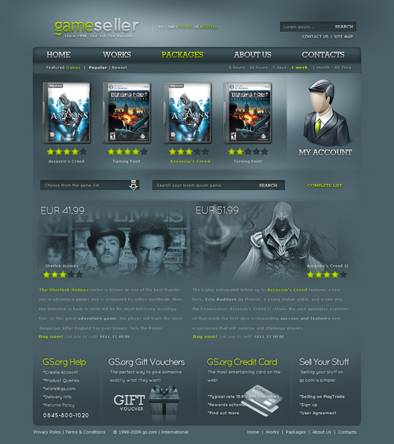 Game-seller-web-design-interface-inspiration-deviantart
