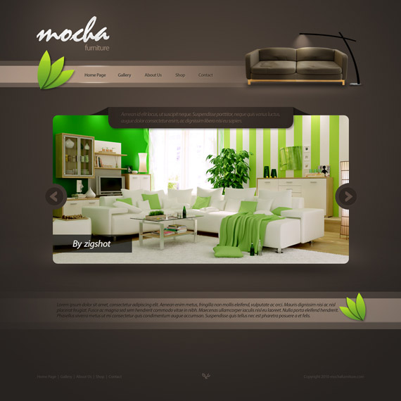 Mocha-furniture-web-design-interface-inspiration-deviantart
